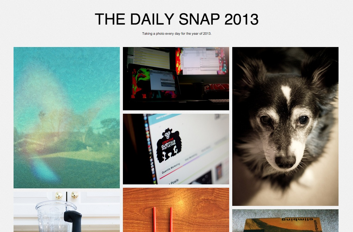 The Daily Snap 2013